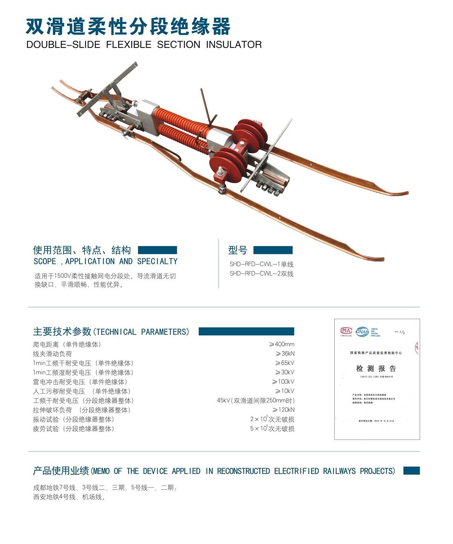 双滑道柔性分段伟德bv下载器(图1)